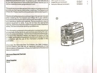 GM Tire Inflator Air Compressor Kit for Corvette-277