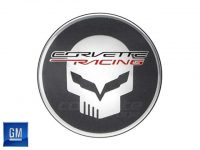 GM Jake Skull Center Caps for C7 Stingray and Z06 Corvette