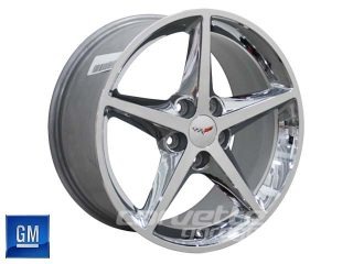 GM 2011-2013 Wheels for C6 Corvette - Chrome
