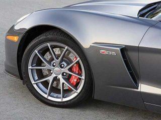 GM Spyder Wheels on Z06 Corvette