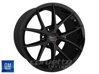 GM Spyder Wheels for C6 Z06 and Grand Sport Corvette - Black