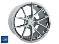 GM Spyder Wheels for C6 Z06 and Grand Sport Corvette - Chrome