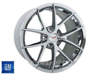 GM Spyder Wheels for C6 Z06 and Grand Sport Corvette - Chrome