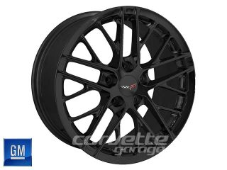 GM ZR1 Corvette Wheels - Black