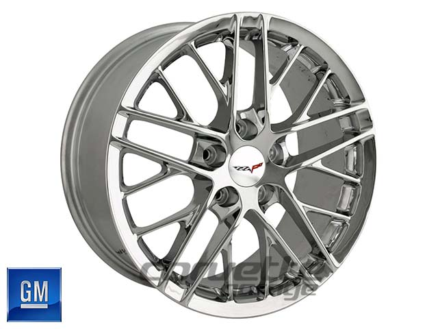 GM ZR1 Corvette Wheels - Chrome