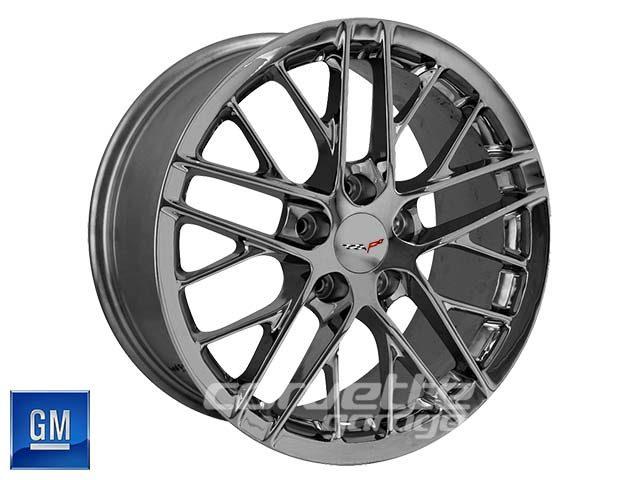 GM ZR1 Corvette Wheels - Competition Gray