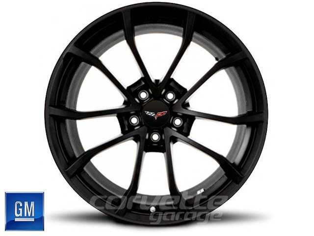 GM Cup Wheel for C6 Z06 Corvette - Black