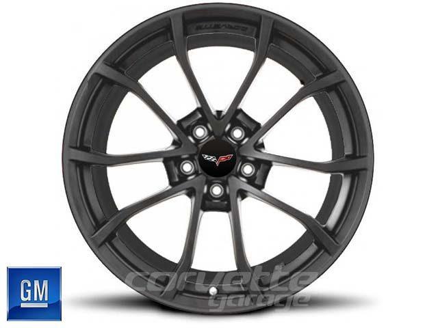 GM Cup Wheel for C6 Z06 Corvette - Metallic Gray w/Machine Face