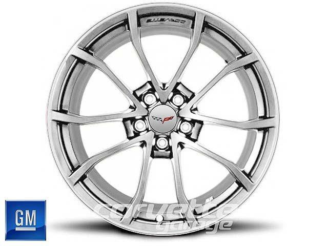 GM Cup Wheel for C6 Z06 Corvette - Silver w/Machine Face