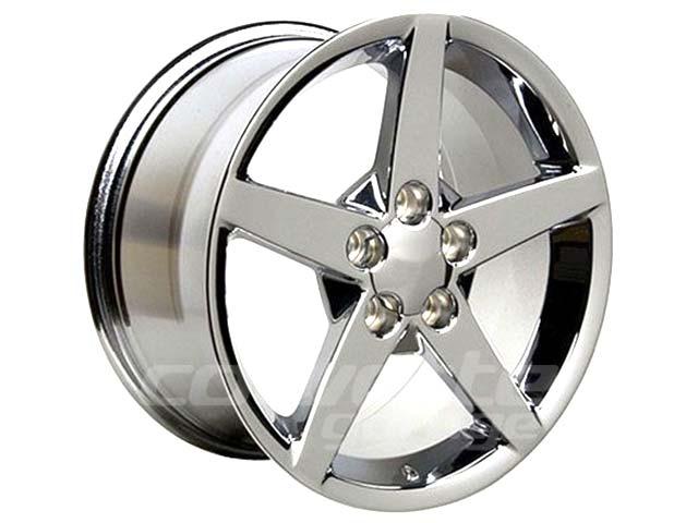 Chrome C6 Corvette Wheels for 2005-2013 C6 Corvette