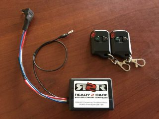 C6 Corvette Ready 2 Race Exhaust Controller w/remote and wiring
