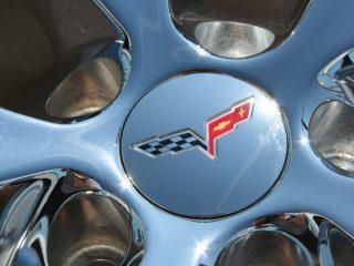 Z06 Corvette Spyder Wheel Center Caps