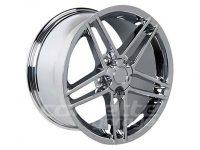 Chrome Z06 Wheel Set for 2005-2013 C6 and Z06 Corvette