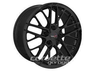 ZR1 Style Wheels for 2005-2013 C6 and C6 Z06 Corvette - Black