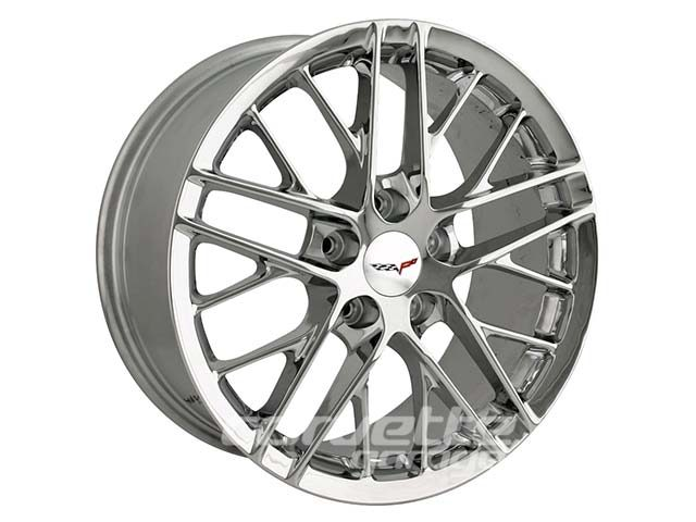 ZR1 Style Wheels for 2005-2013 C6 and C6 Z06 Corvette - Chrome