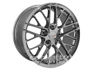 ZR1 Style Wheels for 2005-2013 C6 and C6 Z06 Corvette - Competition Gray
